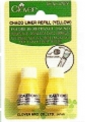 Clover Chaco Liner - Old-style Chalk Refill - Blue, Pink or Yellow